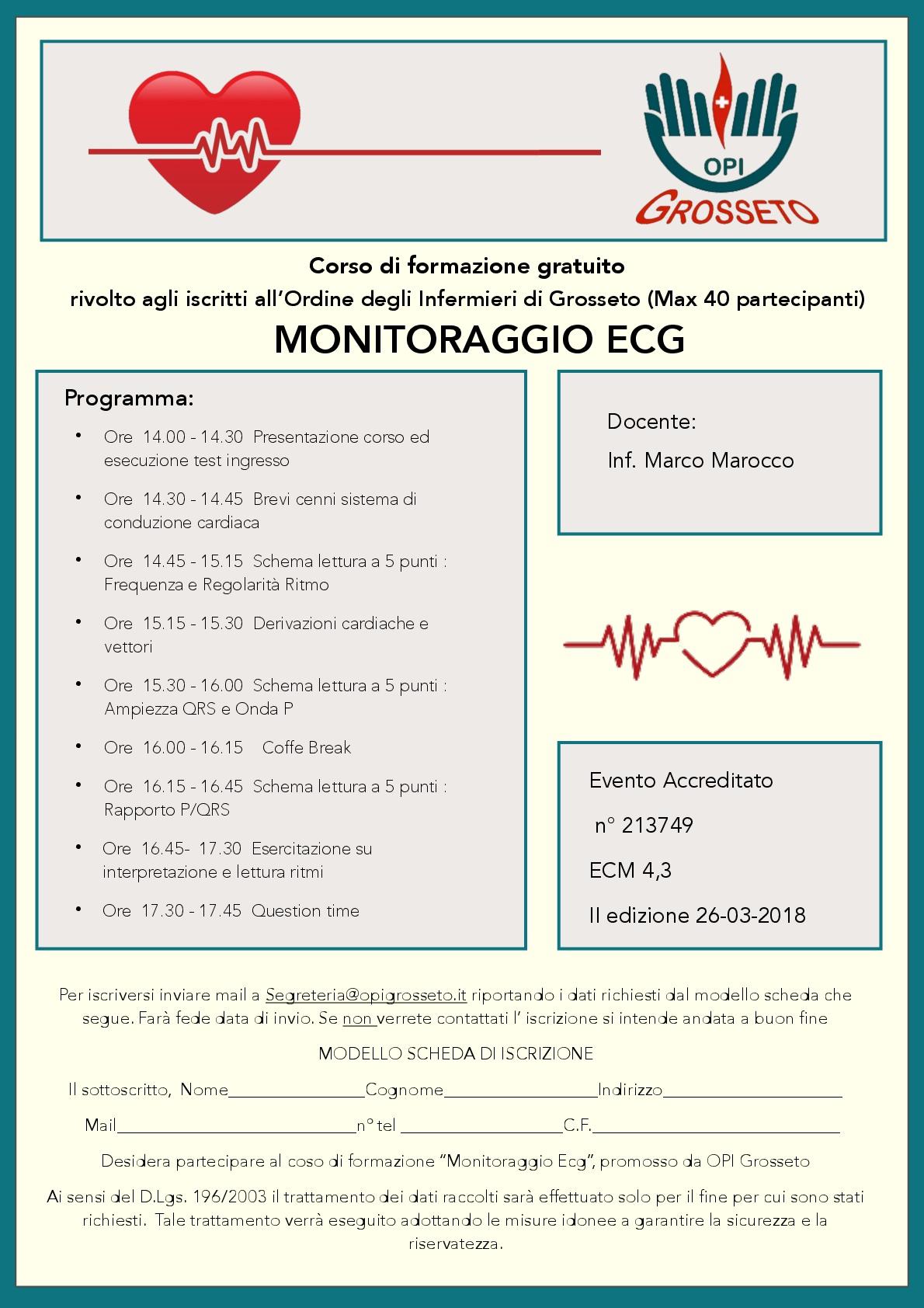 Locandina Monitoraggio ECG 001