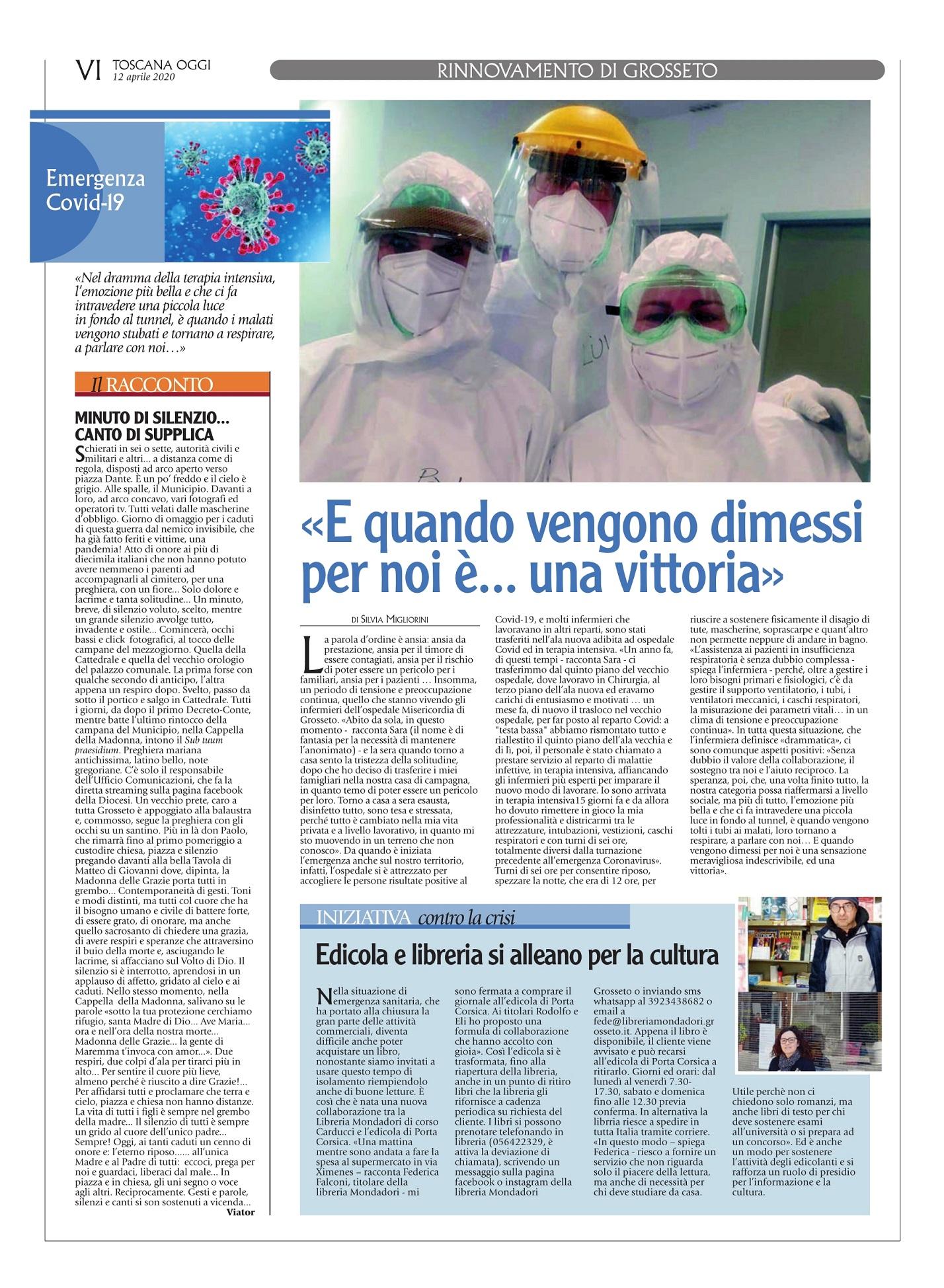 Toscana oggi coronavirus