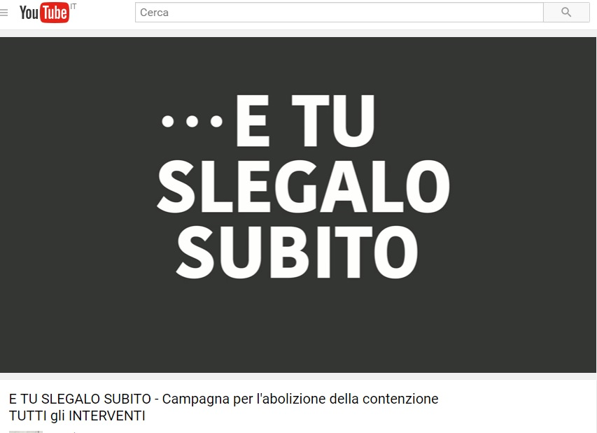 screenshot e tu slegalo subito you tube